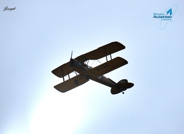 Rhodes Aviation Lovers το DH82a DE Havilland Tiger Moth του 1942